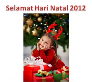 Selamat Hari Natal 2012