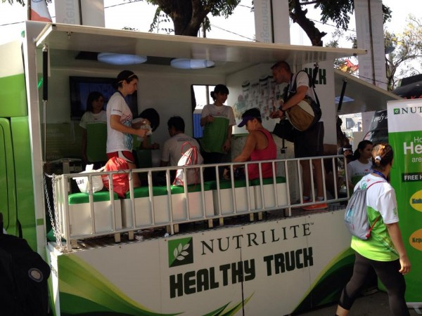 Booth Nutrilite