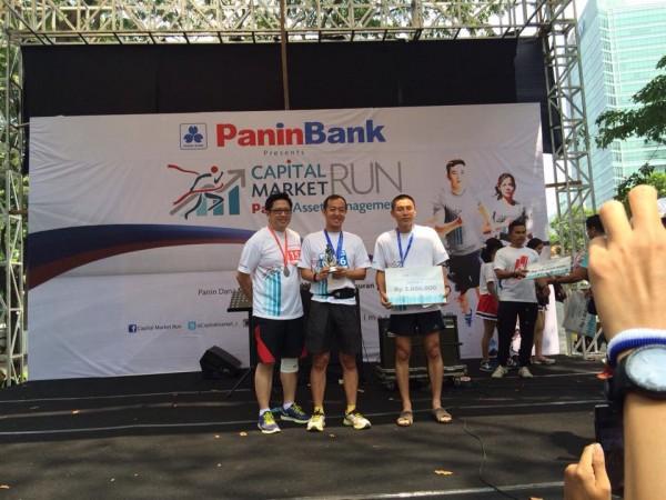 Pemenang 10 Km Capital Market Pria