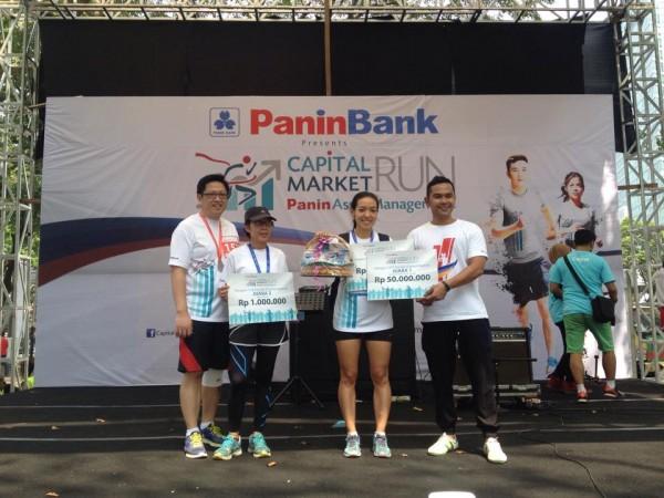 Pemenang 10 Km Capital Market Wanita