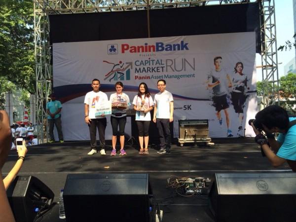 Pemenang 5 Km Capital Market Wanita
