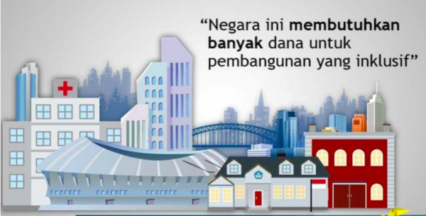 Pembangunan Infrastruktur Dari Dana Amnesti Pajak
