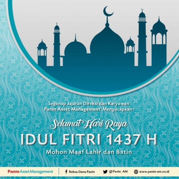 Selamat Hari Raya Idul Fitri Panin Asset Management
